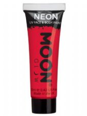 Moon Glow UV Body & Face Paint in Intense Red